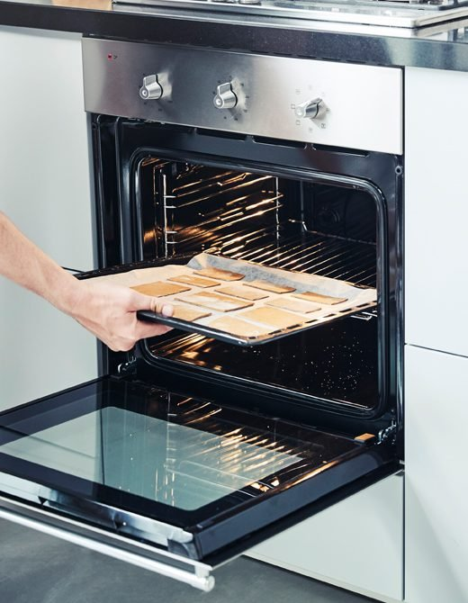 Auf wie viel Grad sollten Sie den Lebkuchen backen?