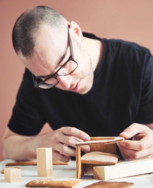 Wollen Sie ein Haus aus Lebkuchen selber machen?