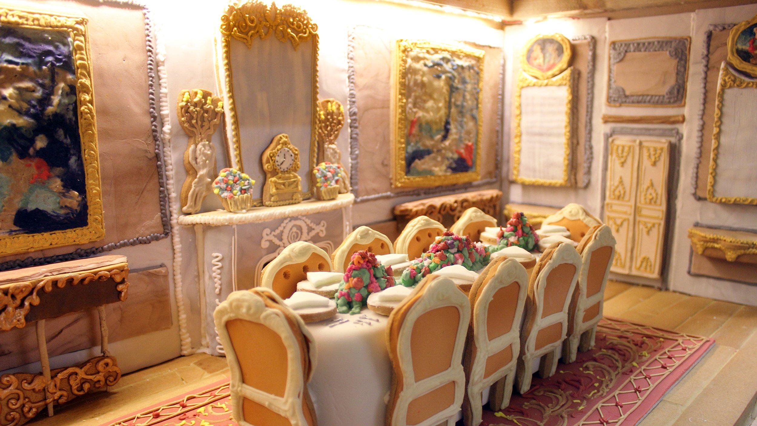 Außergewöhnliche Lebkuchen -Dekoration für Weihnachten