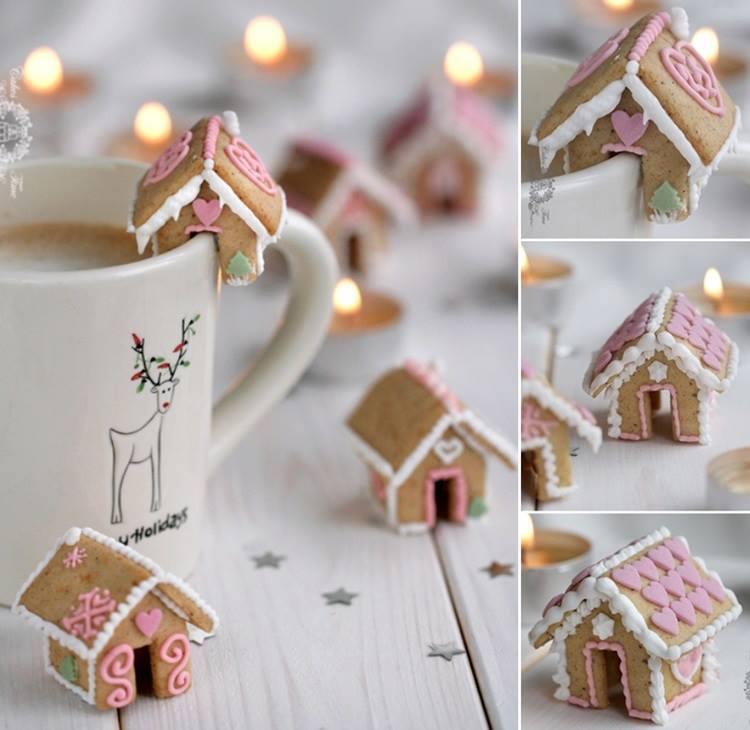 Weihnachtsdekoration aus Lebkuchen - Lecker und Stilvoll