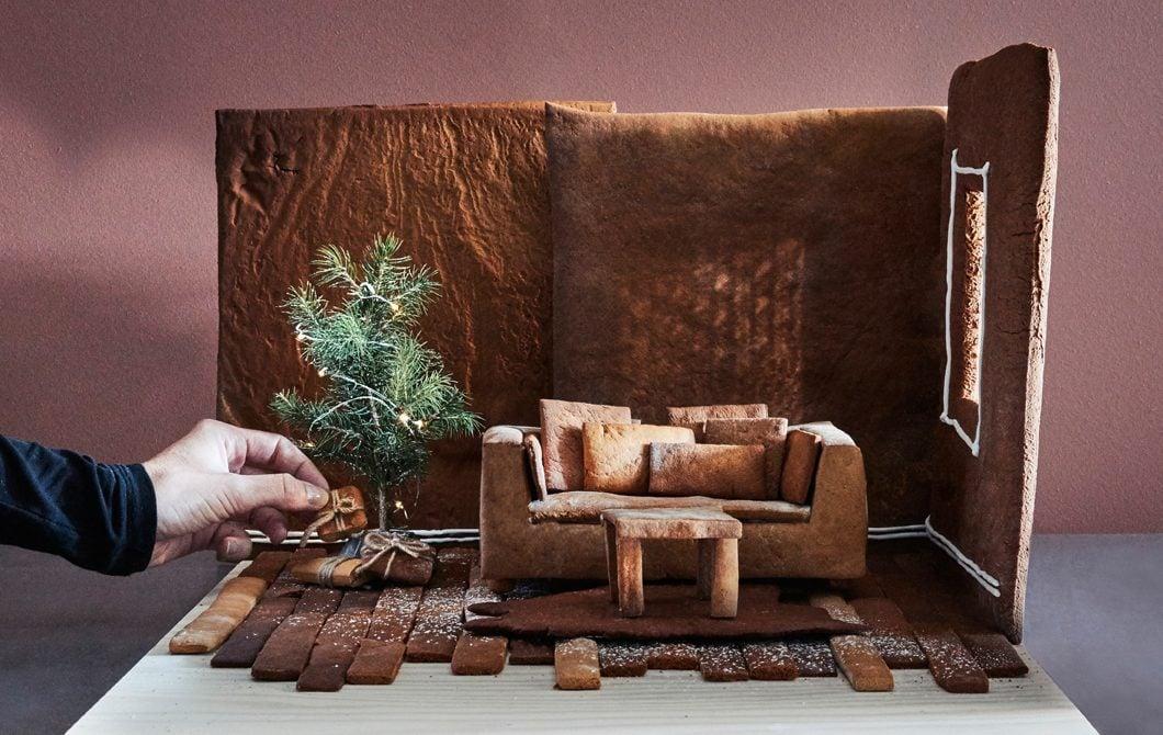 Denken Sie über bisherige Grenzen hinaus und schaffen Sie ein Traumhaus aus Lebkuchen für Weihnachten!