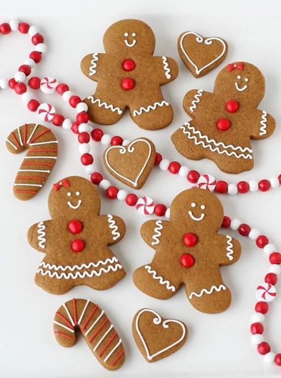 Lebkuchenherz und Lebkuchenmann - Die Symbolen der Weihnachten
