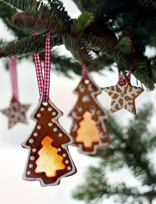 Andere tolle Ideen für Weihnachtsdeko aus Lebkuchen