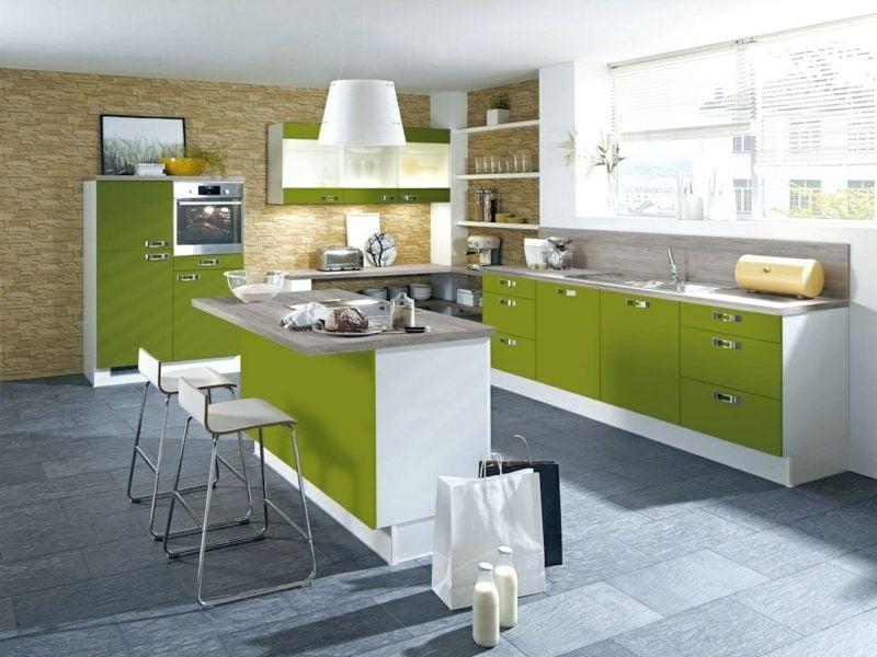 Küche selber bauen Kücheninsel