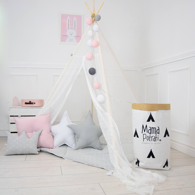 Mutti kann alles - finden Sie hier coole Sammeln Sie coole Näheideen für Anfänger und machen Sie dieses Tipi Zelt nach