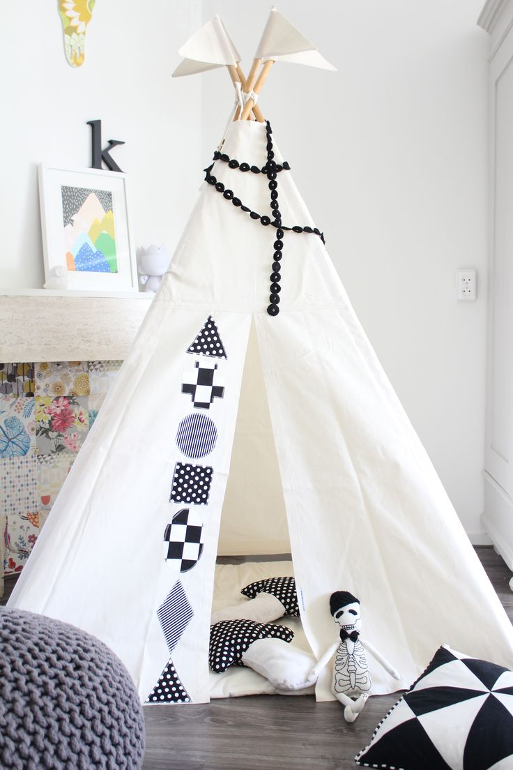 Nähen Sie dieses schöne Zelt mit Hilfe unseren tollen Nähideen für Anfänger