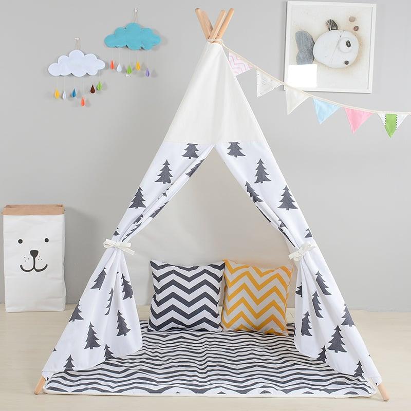 Einfache Nähideen für Anfänger - Tipi Zelt für die Kleine