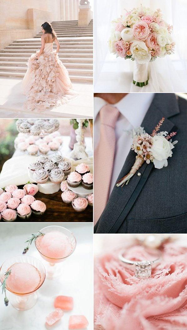 Hochzeit-Set in Pastellfarben - Das Gesamtbild sieht wunderschön aus!
