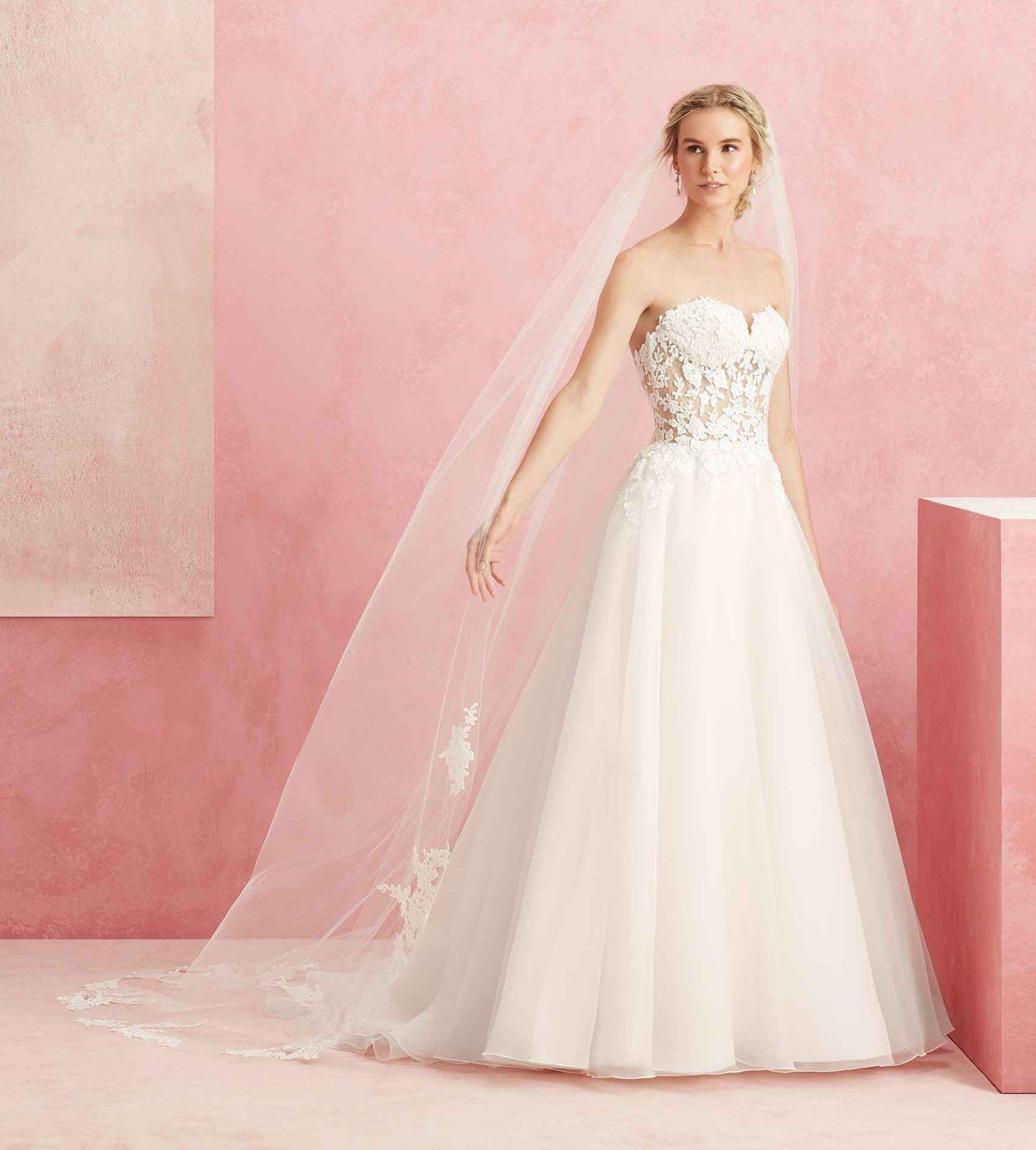 Sehen Sie umwerfend am Hochzeitstag mit einem Kleid in Pastellfarben aus
