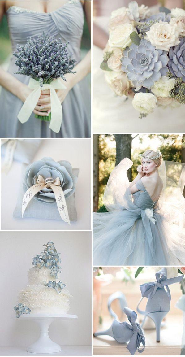 Pastellblau als Hauptfarbe für Ihre Hochzeit in 2018