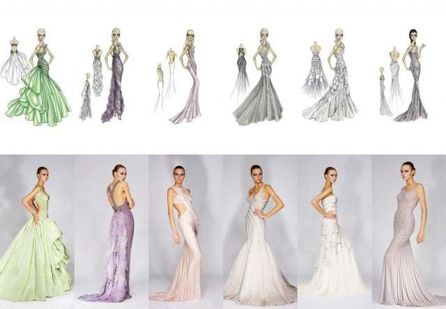 nichts macht Ihren Look am Hochzeitstag feiner und sanfter als ein Brautkleid in Pastellfarben.