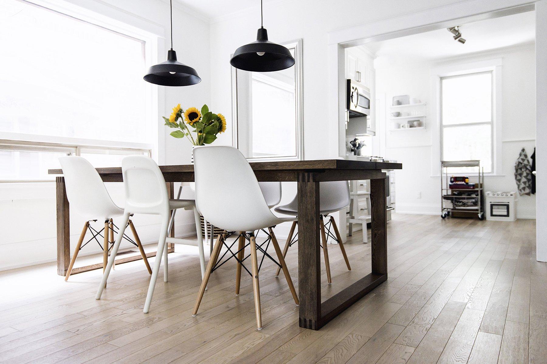 Weiß und minimalistisch - typisch Scandinavian Lifestyle