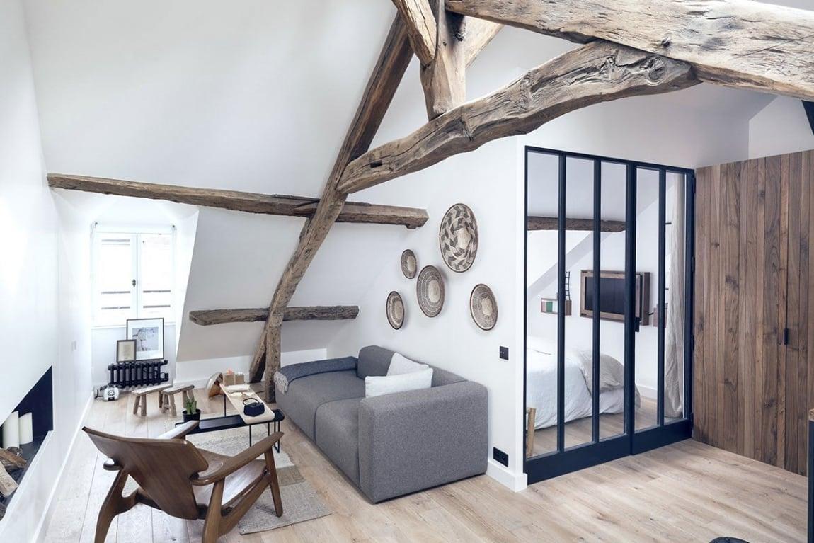 Naturbelassenes Holz bringt mehr Wärme im Raum