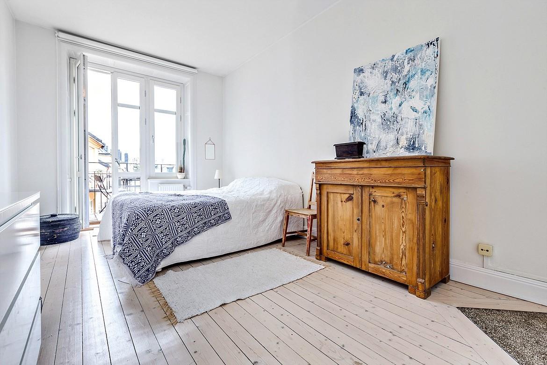 Schlafzimmer skandinavisch und modern