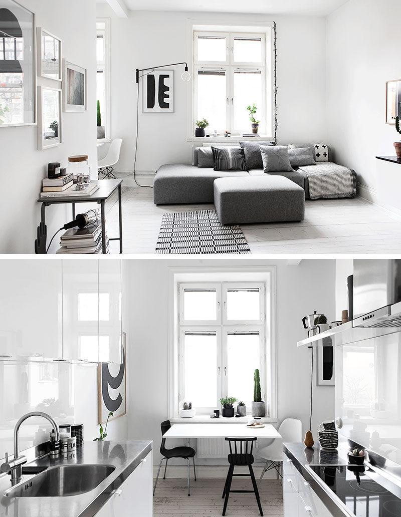 Wohnung in skandinavischer Stil