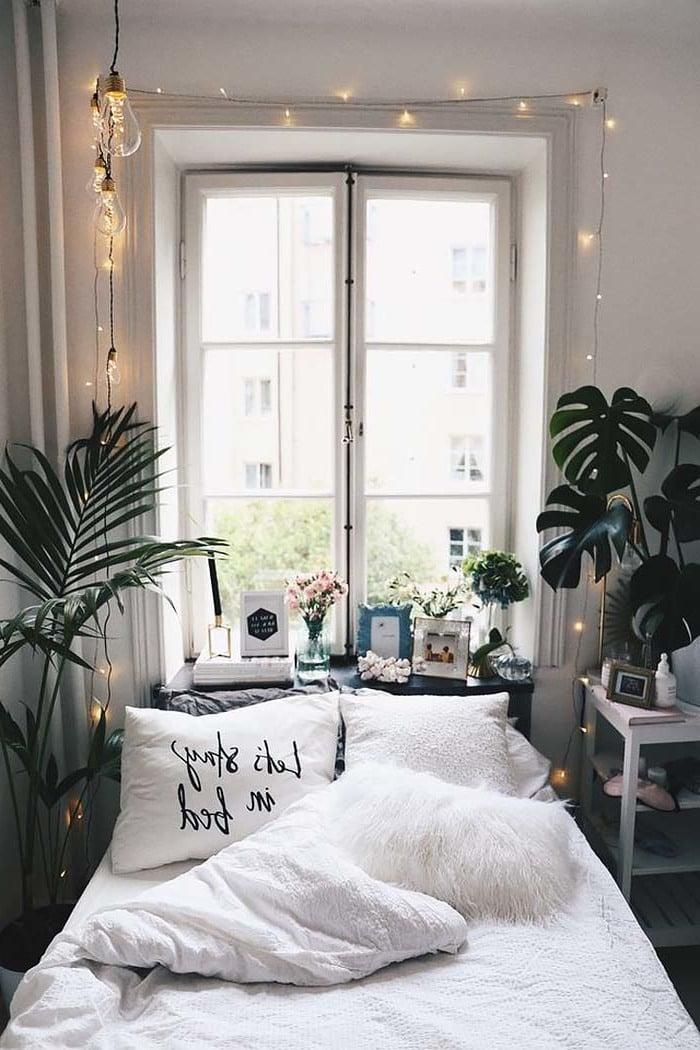 Fellkischen im Schlafzimmer