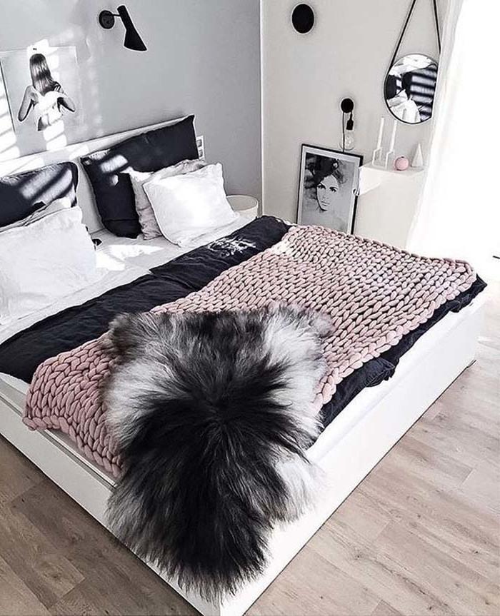 Schlafzimmer modern mit fell gestalten 31 ideen f r ein cosy home innendesign schlafzimmer - Gemutliche schlafzimmer ...