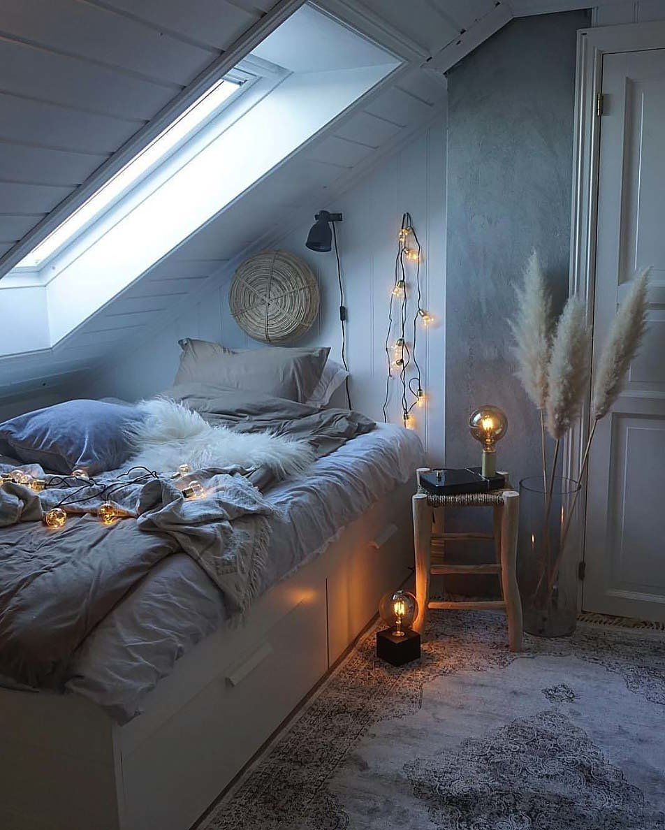 Schlafzimmer modern dekorieren - Schlafzimmer Ideen für Winter Deko