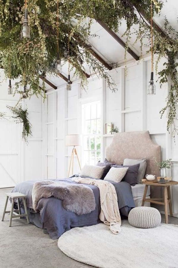 Schlafzimmer mit Fell gestalten
