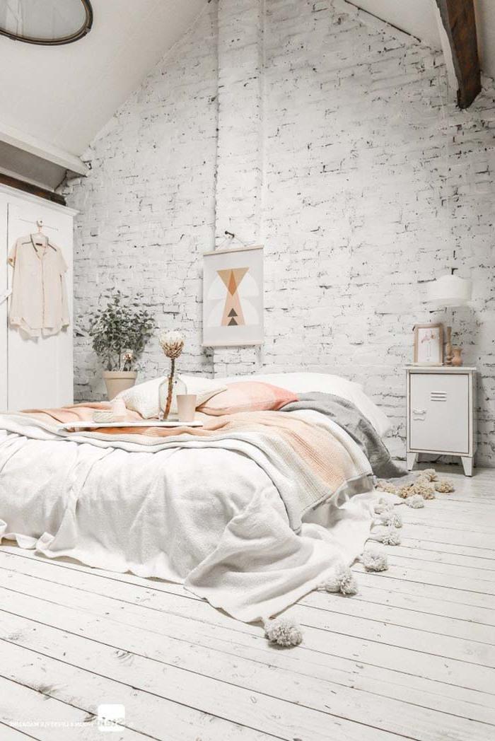 Schlafzimmer mit Rosa dekorieren - Schlafzimmer Set aus Decken und Kissen
