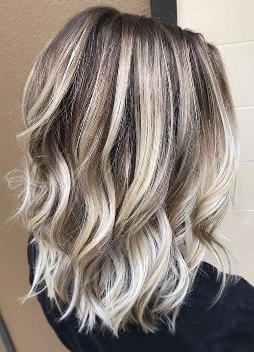 Styling-Looks: schulterlange Haare Locken - einfache Frisuren für Sie
