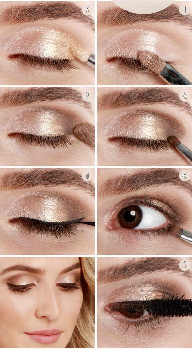 Schminktipps für Silvester Make-up