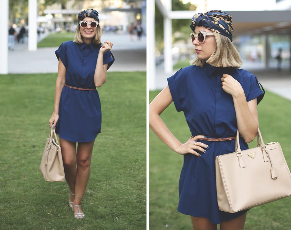 Stilvoll und elegant - Tragen Sie einen Turban-Look auf die Straßen.