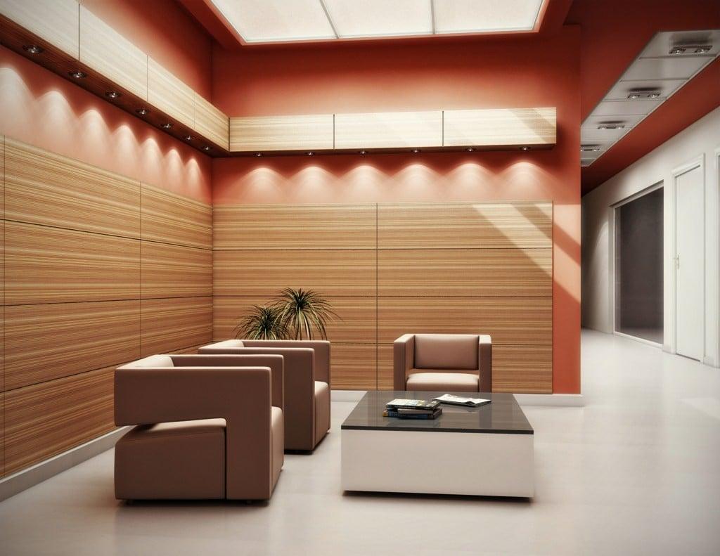 Wandpaneele Holz - die beste Alternative für die Wandverkleidung für ein Hotel