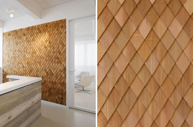 Wandverkleidung aus Holz - Modern und Stilvoll