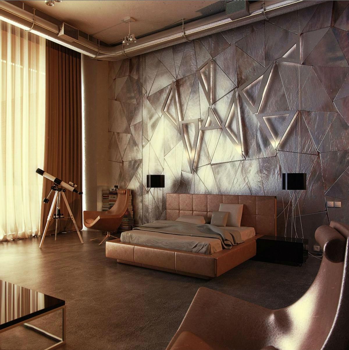Diese Deko Wand passt perfekt zu Ihrem Schlafzimmer!