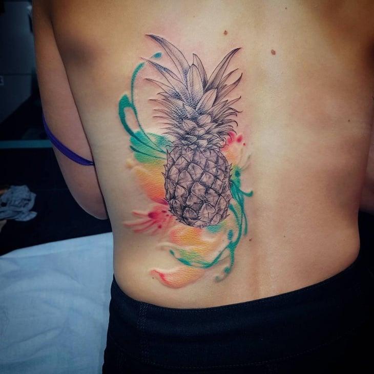 Aquarell Tattoo Ideen
