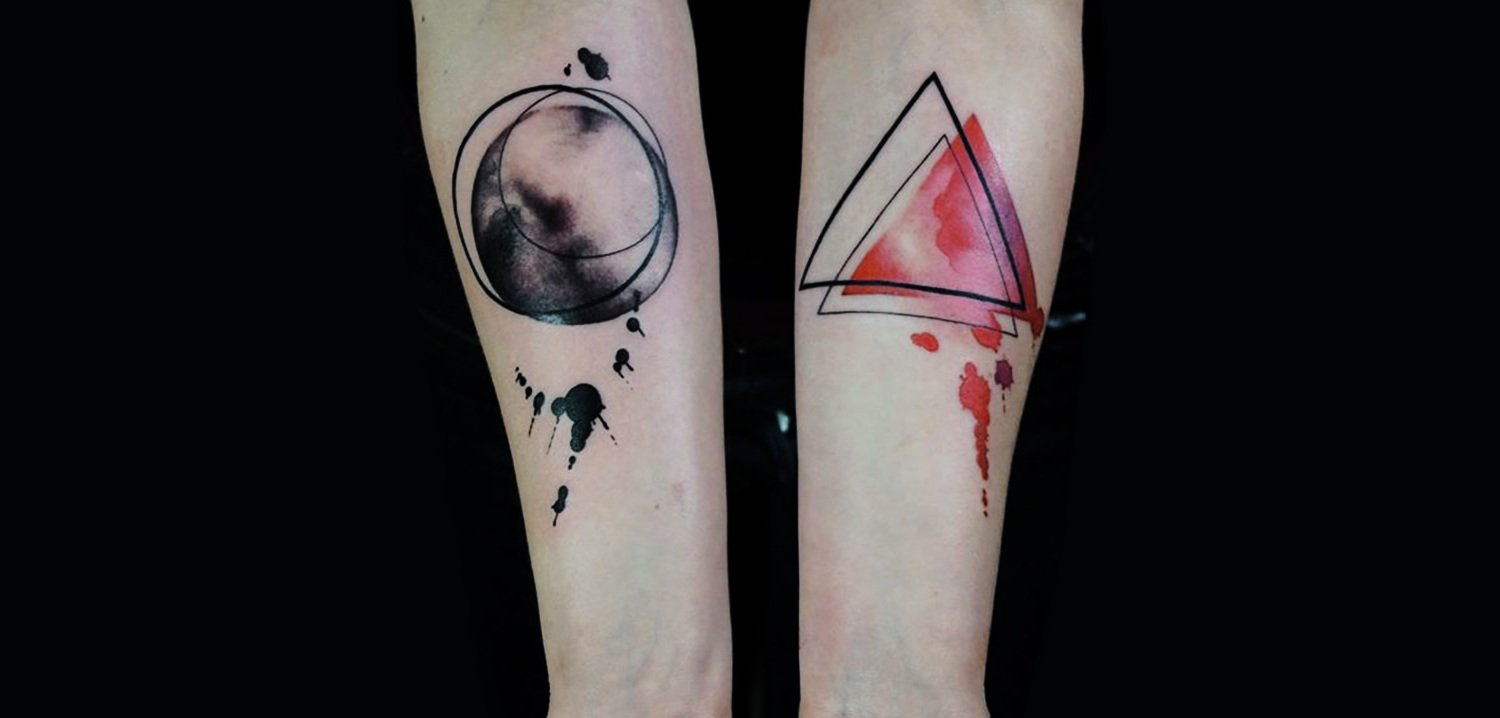 Watercolor Tattoo Illuminat