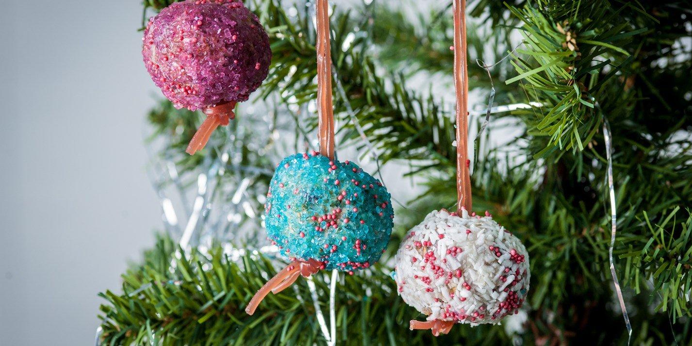 Weihnachtsdeko basteln aus Weihnachtsplätzchen