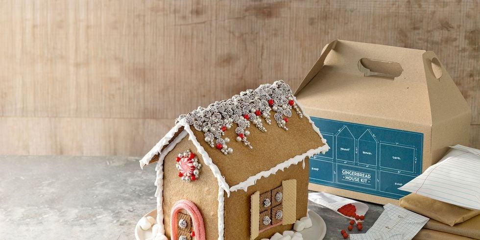 Weihnachtsdeko basteln - Lebkuchen Haus