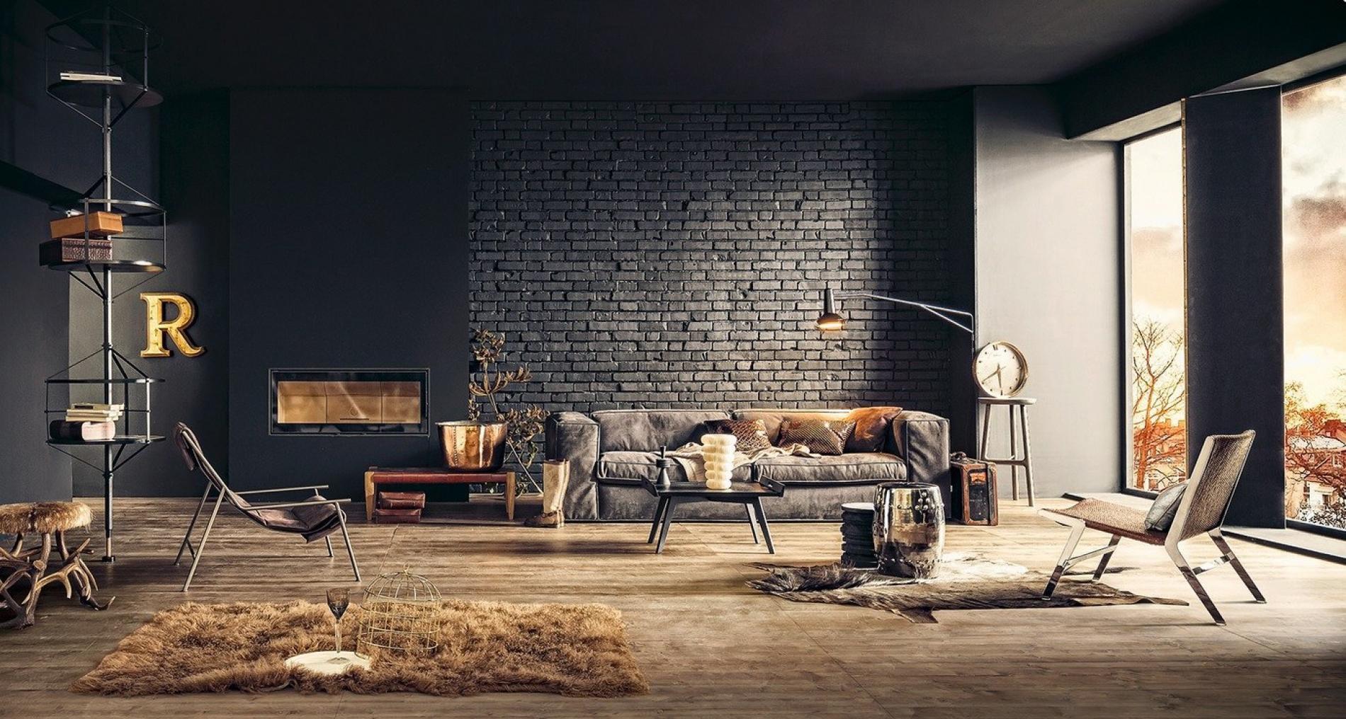 Industrial Chic scheint wie einen Wohnungseinrichtung -Stil, der eine echte Schönheit in den utilitaristischen und gealterten Look findet.