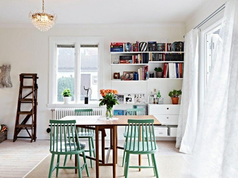 antik Möbel Esszimmer romantisches Ambiente