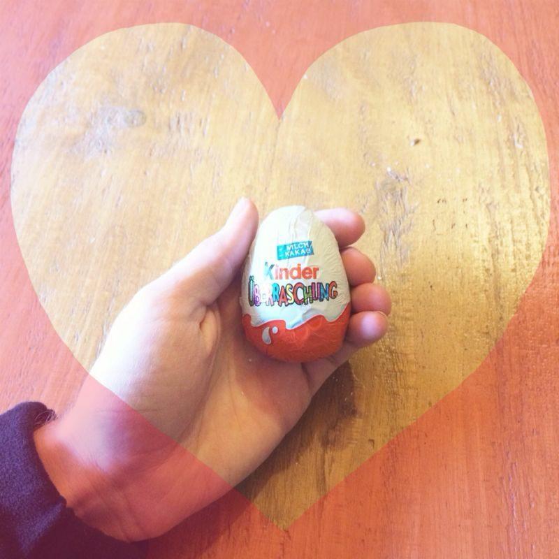 Valentinstag Geschenke selber machen originelle Idee Kinder Ei