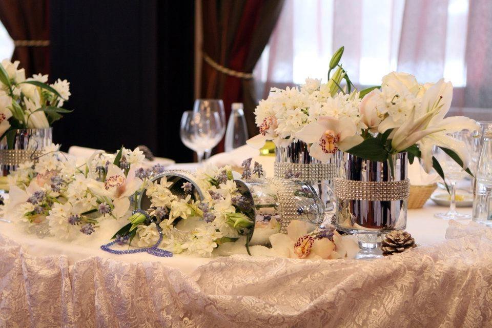 Atemberaubende Tischdekoration