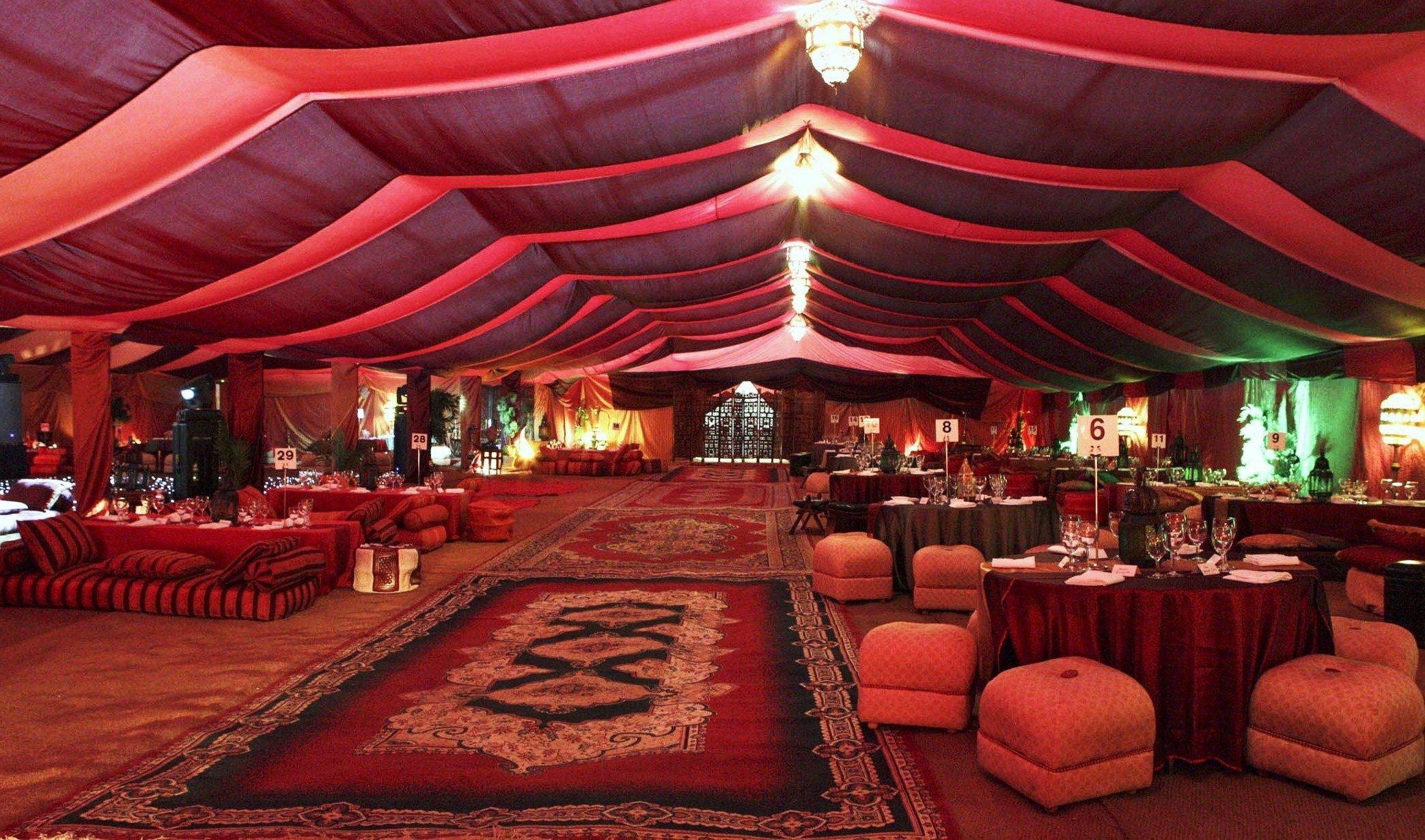Hochzeit im orientalischen Stil