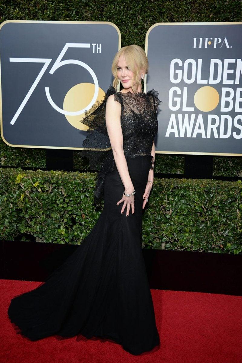 schwarze Kleider super stilvoll Nicole Kidmann