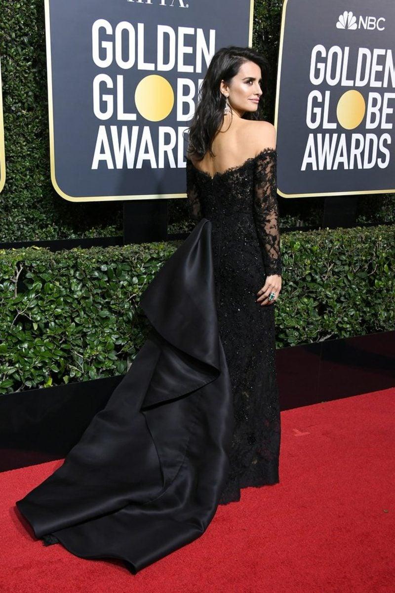 schwarze Kleider prachtvoll Penelope Cruz