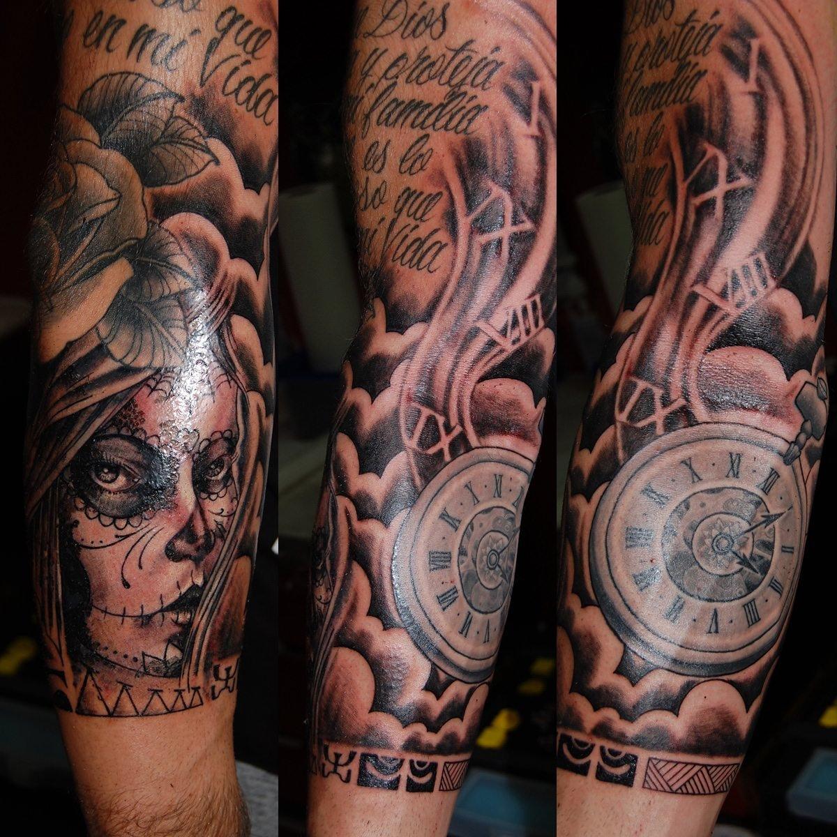 La Catrina Tattoo Symbole