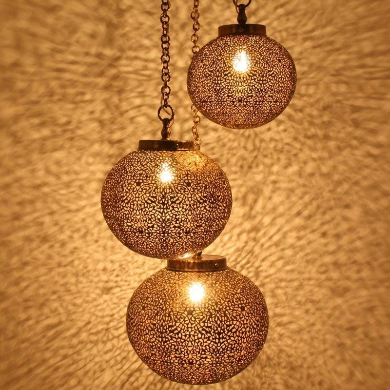 orientalische Lampen tolle Lichteffekte