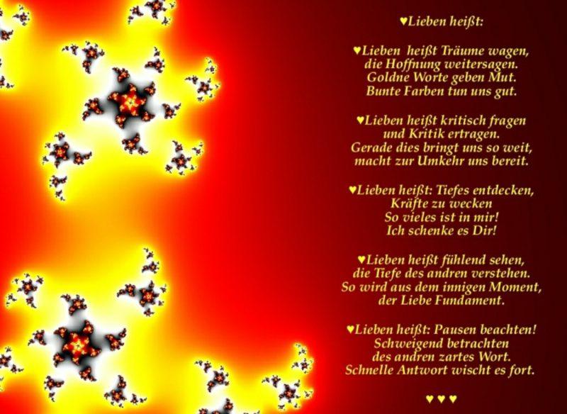 Valentinstag Sprüche tolles Gedicht