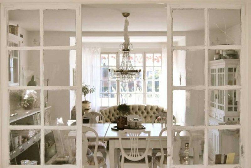 antike Möbel Kronleuchter Esszimmer
