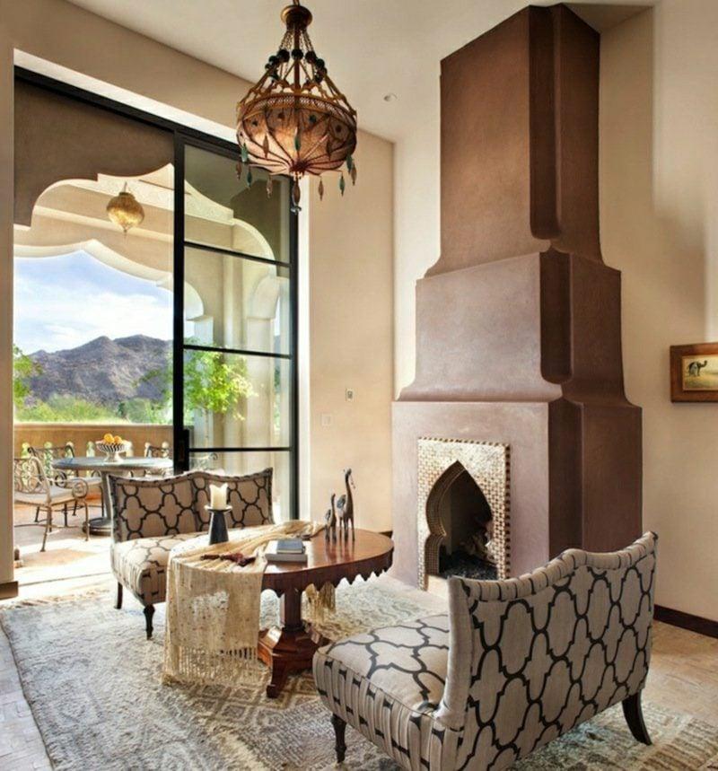 orientalische Lampen Wohnzimmer Pendelleuchte