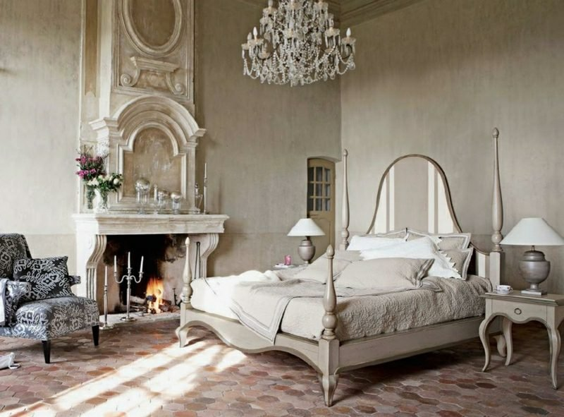 antike Möbel Schlafzimmer im Vintage Stil