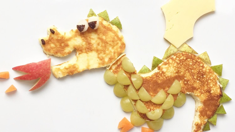 Pfannkuchen-Drachen - Obst und Gemüse bestens angeboten