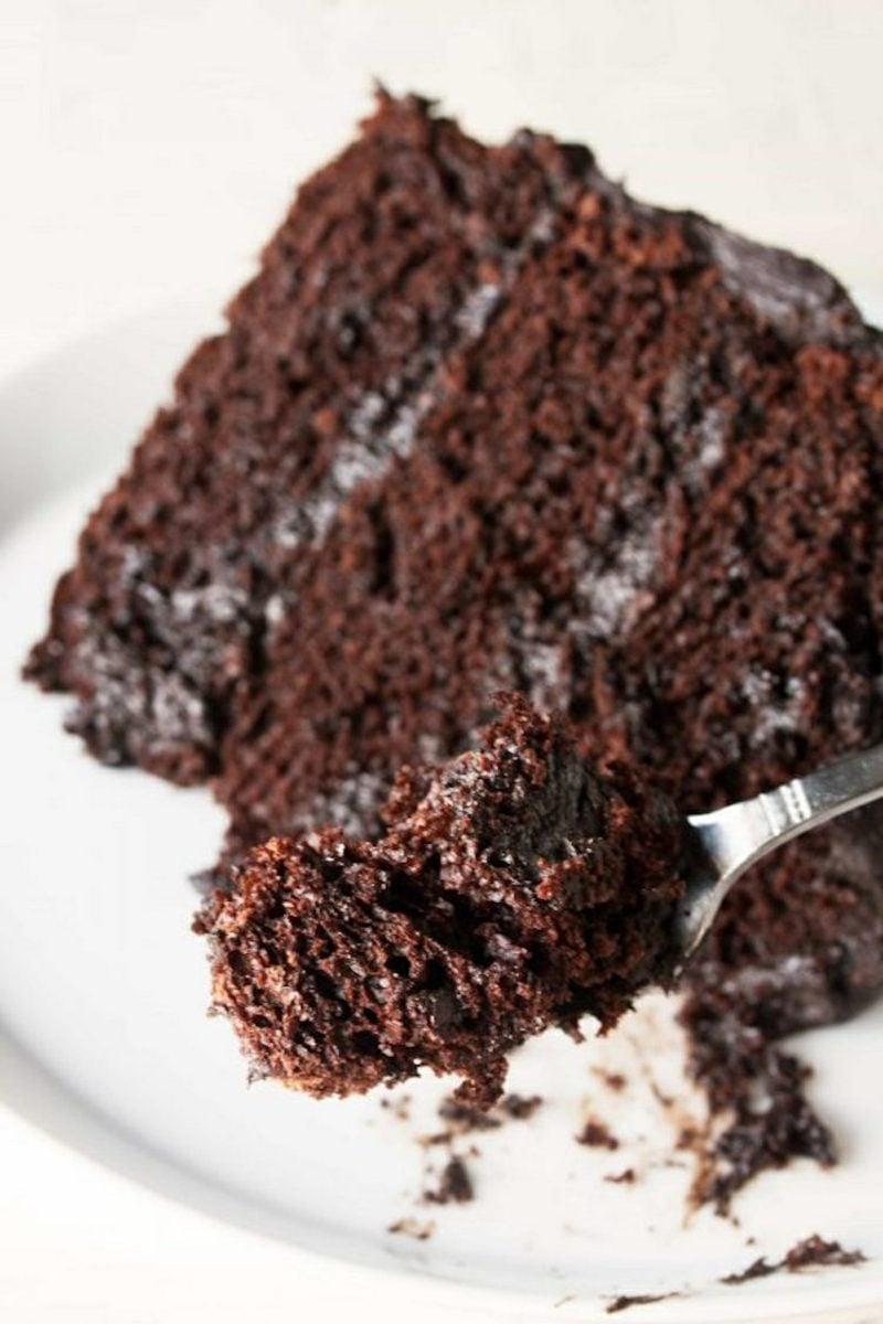 Geburtstagskuchen Schokoladenkuchen selber backen