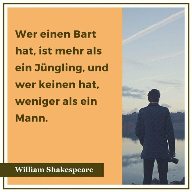 Shakespeare Zitate weis Mann Junge